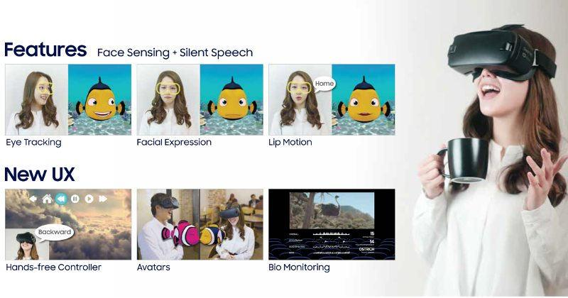 Samsung C-Lab's FaceSense uses your face to navigate VR