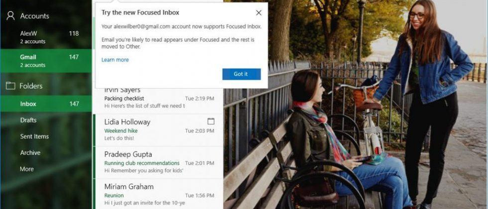 Windows 10 Mail and Calendar apps get Gmail support for advanced features