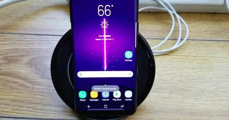 Galaxy S8 owners complain about wireless charging issues