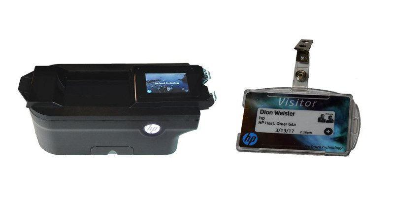 HP IonTouch is a rewritable, inkless printing system