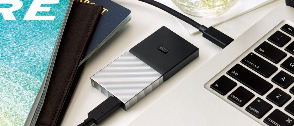 My Passport SSD is a new USB-C portable storage drive from WD