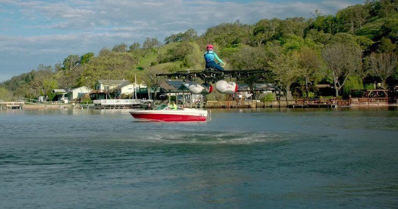 Kitty Hawk's flying car flies, floats, but doesn't roll