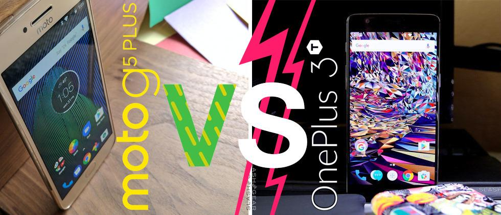 Moto G5 Plus VS OnePlus 3T: battle for the best budget phone