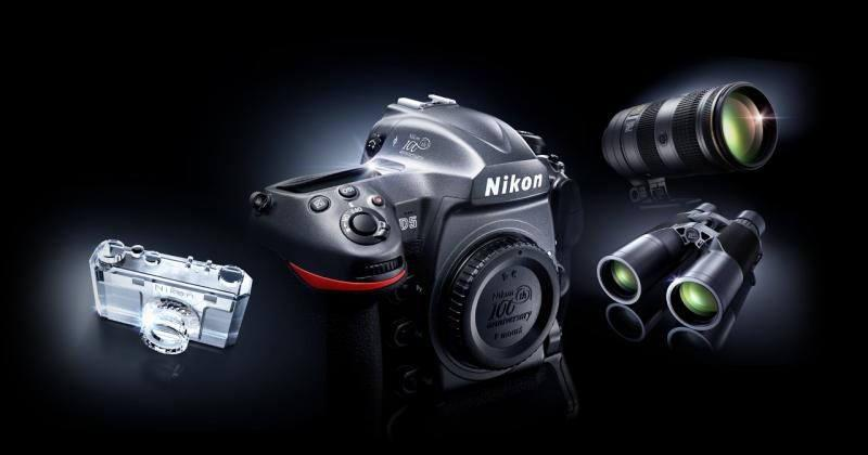 Nikon celebrates 100 years with commemorative editions