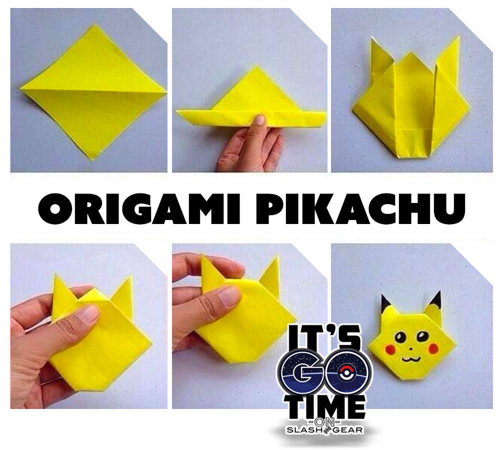 How to make Paper Pokemon: Easy Origami Pokemon Instructions | 900x1000