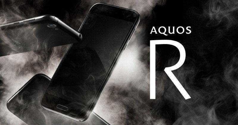 Sharp AQUOS R comes with high-end specs, rotating dock