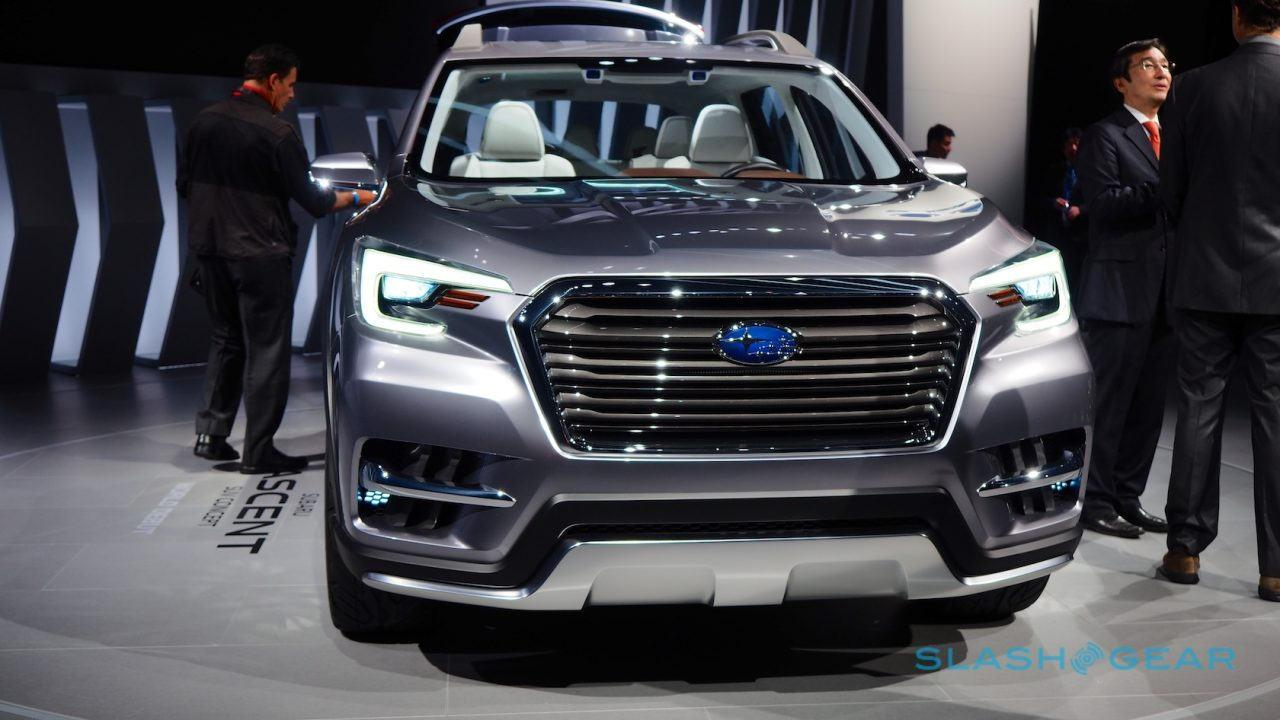 2018 subaru ascent interior. interesting ascent still itu0027s a handsome suv and subaru continues to sell well devoted  audience even only selling the lafayette indianabuilt ascent in north america  inside 2018 subaru ascent interior