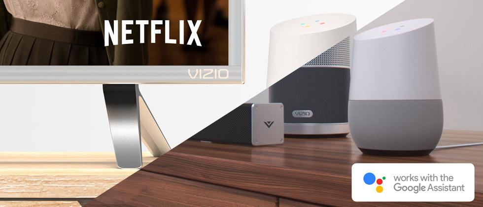 VIZIO 2017 Displays and Speakers revealed with Google Home