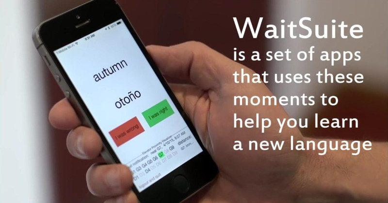 MIT makes apps that teaches language for just a few seconds