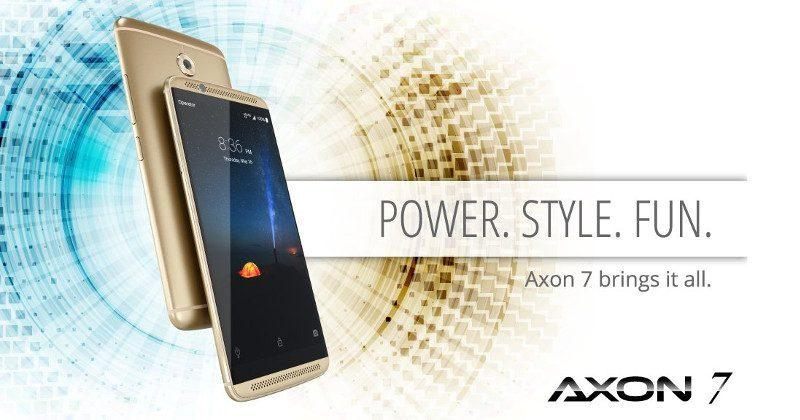 ZTE Axon 7 gets a minor update with major treats