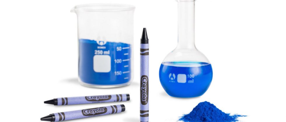 Crayola announces crayon based on newly-discovered shade of blue