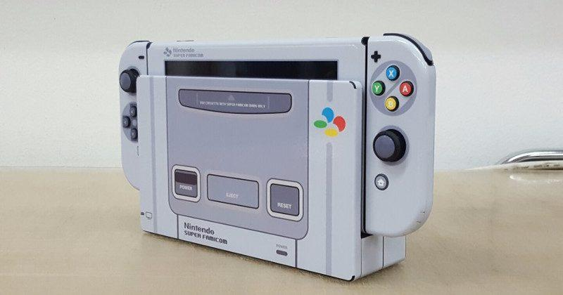 Nintendo Switch gets an unofficial Super Famicom makeover