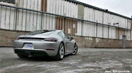 2017 Porsche 718 Cayman S Gallery