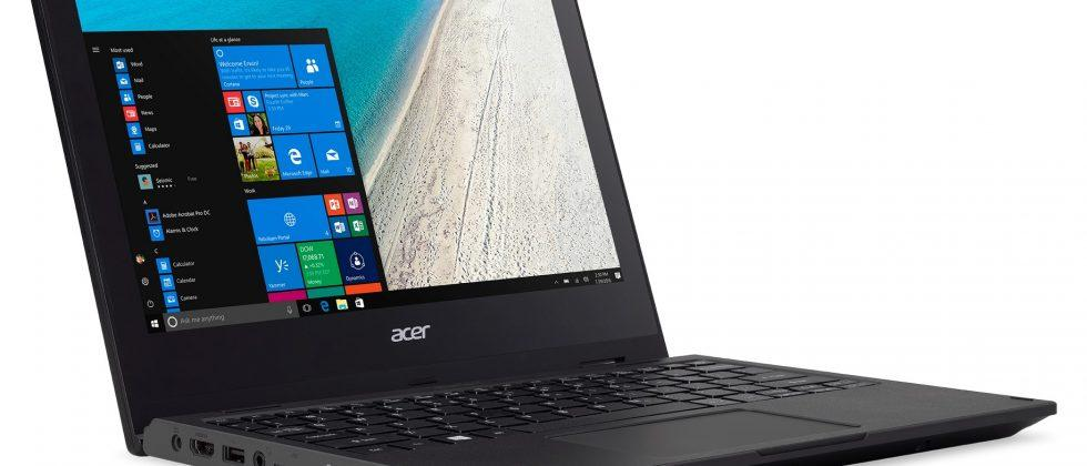 Acer's first Windows 10 S notebook is the TravelMate Spin B1