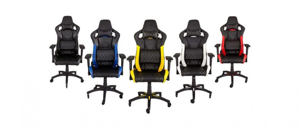 Corsair T1 Race Chair is maker's first chair for gamers