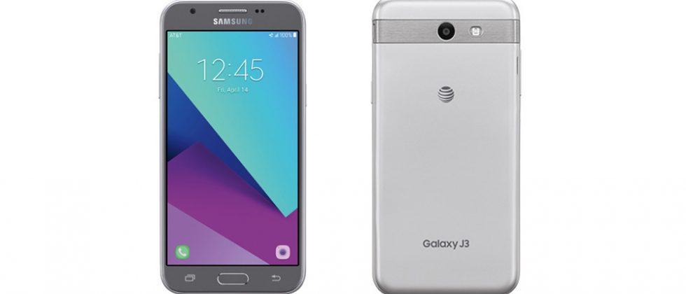Samsung Galaxy J3 (2017) budget phone arrives at AT&T