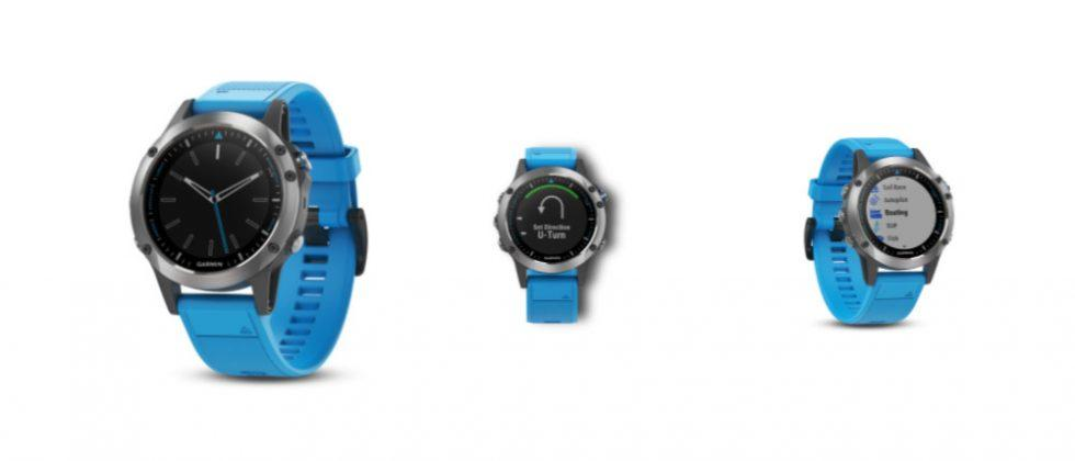 Garmin quatix 5 marine smartwatch is made for boating, fishing and more