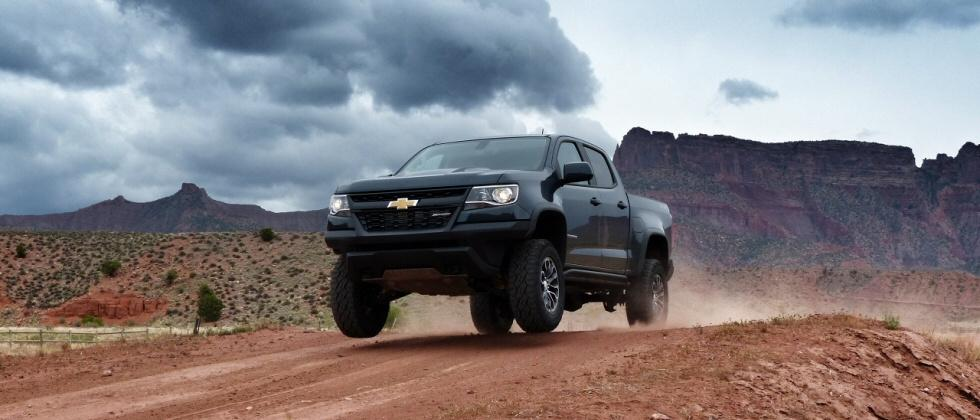 2017 Chevrolet Colorado ZR2 First Drive: Right-size off-roader offers high-tech romp