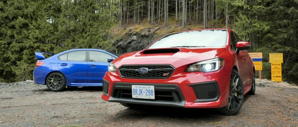 2018 Subaru WRX and WRX STI First Drive: One-two