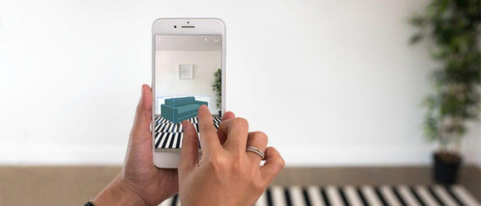 Houzz app uses augmented reality to let users preview furniture in their home