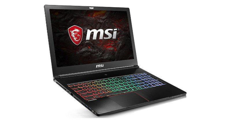 MSI unveils VR-ready laptops, X299 platform, Infinite desktop