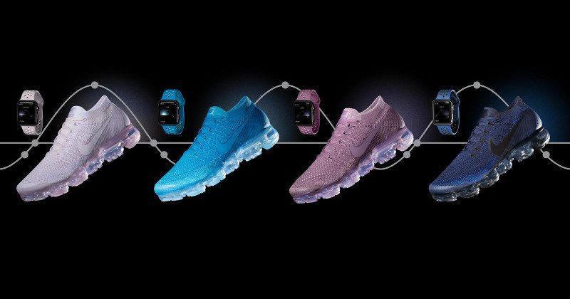 Nike+ Apple Watch bands match new Air VaporMax running shoes