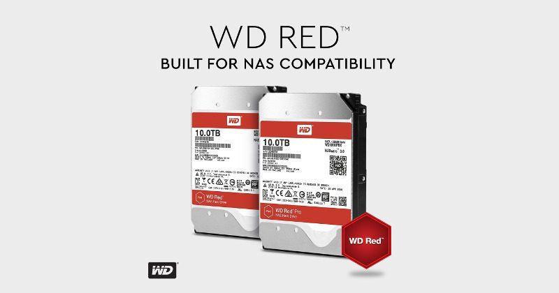 Western Digital WD Red brings 10TB helium drives to NAS