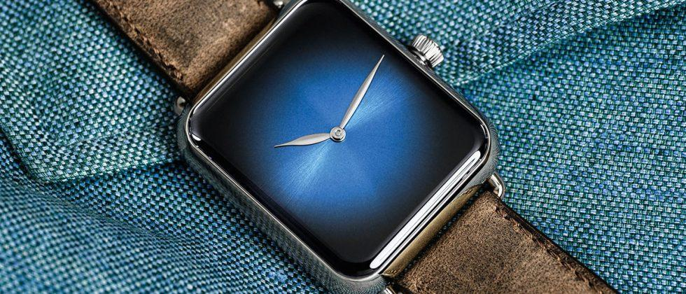 Swiss watchmaker H. Moser creates $27k Apple Watch lookalike