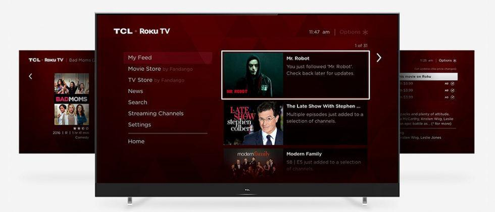 TCL's 2017 Roku smart TVs include 4K and Dolby Vision HDR