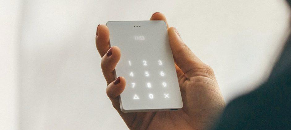 The Light Phone does nothing but make and receive calls