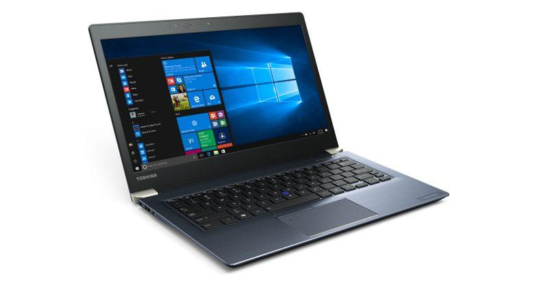 Toshiba Portege X30 touts enterprise security, Windows 10 Pro