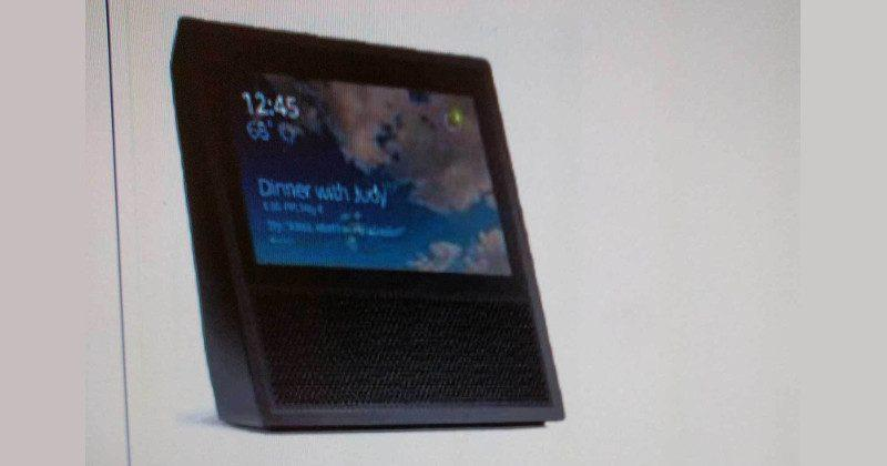 "Amazon ""Echo Show"" details leak hours before official launch"