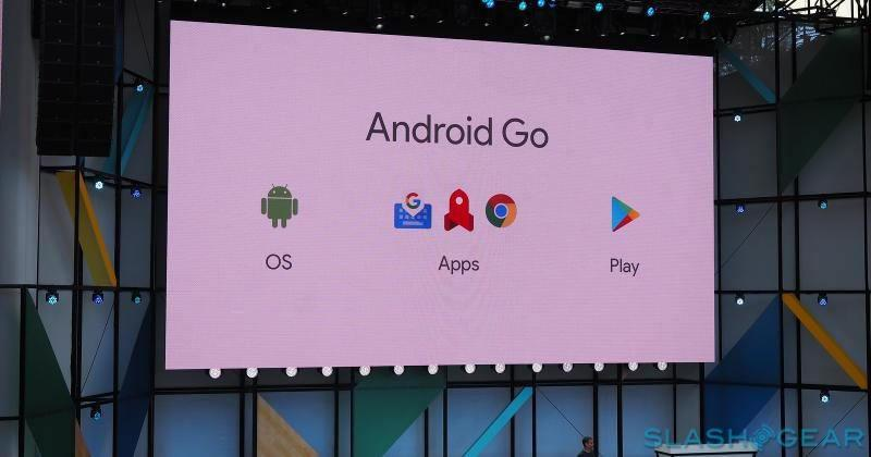 Android Go is just a config, not new version, of Android