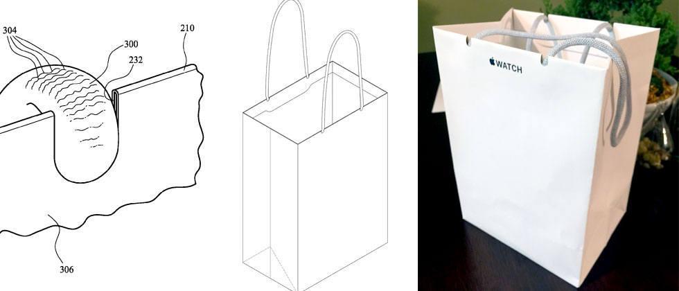 Apple's paper bag patent granted