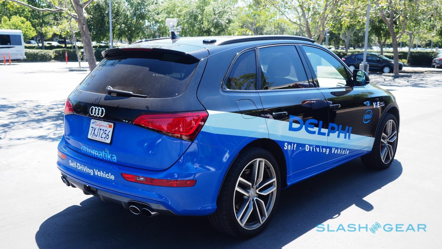 In Delphi's latest self-driving car, aggression is an option - SlashGear