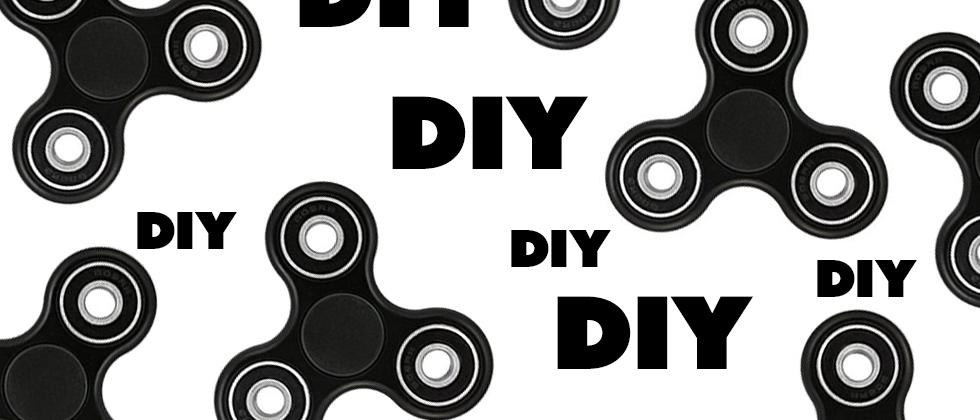 DIY Fidget Spinner at home, for free