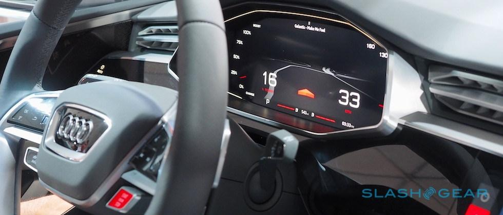 This is what Embedded Android is like in Audi's Google I/O concept car