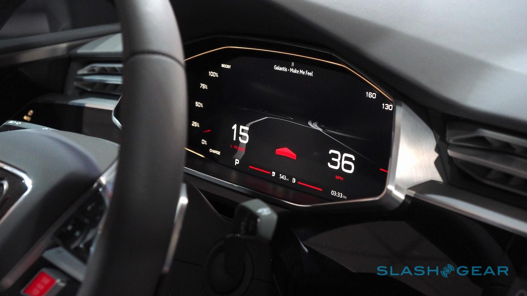 This is what Embedded Android is like in Audi's Google I/O