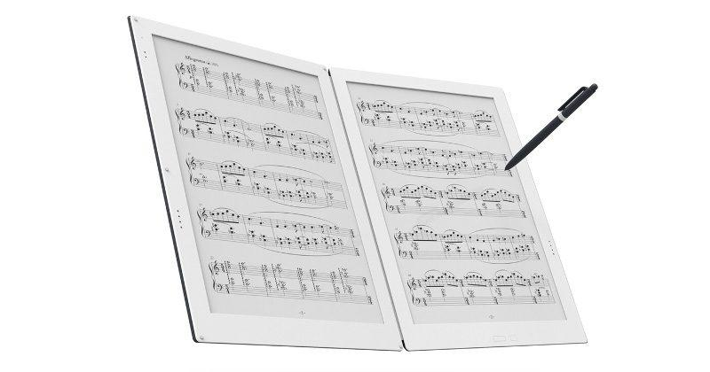 Gvido dual-screen e-ink music sheet gets an unbelievable price tag