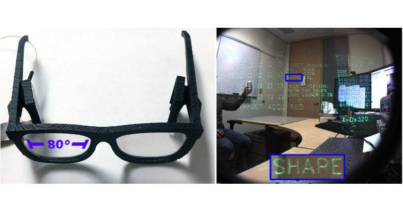 Microsoft Research holographic display can fit in eyeglasses