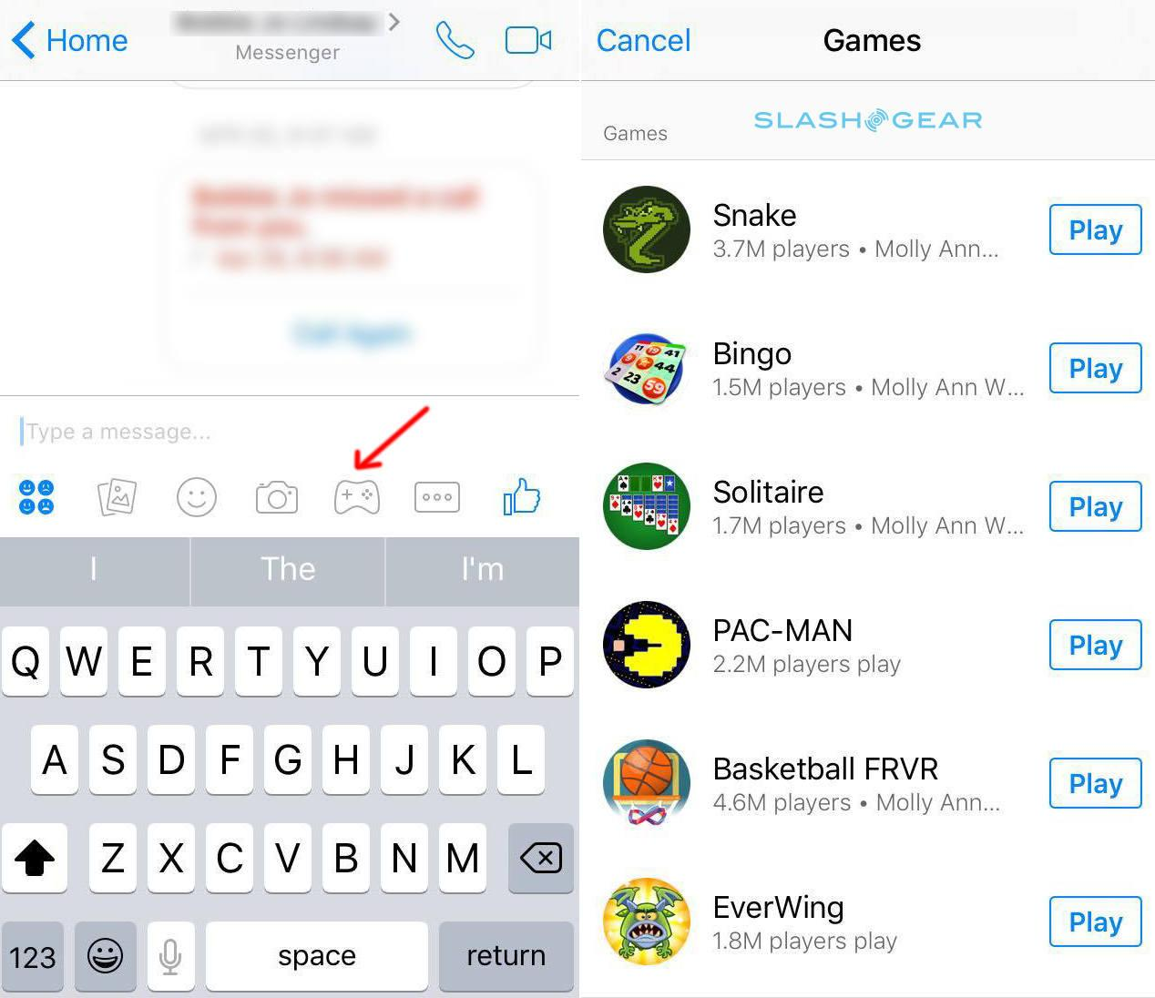 How to play Facebook Messenger Instant Games on your phone