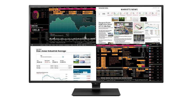 43-inch LG 4K monitor crams four 1080p displays in one