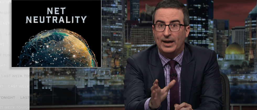 John Oliver just made it easier to contact the FCC about net neutrality