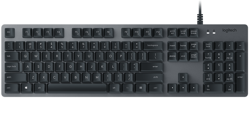 Logitech's K840 is a mechanical keyboard for the rest of us