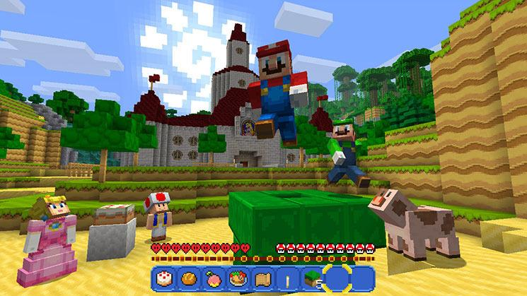 Minecraft launches for Nintendo Switch today