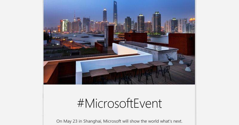 Microsoft has a big Surface surprise in Shanghai