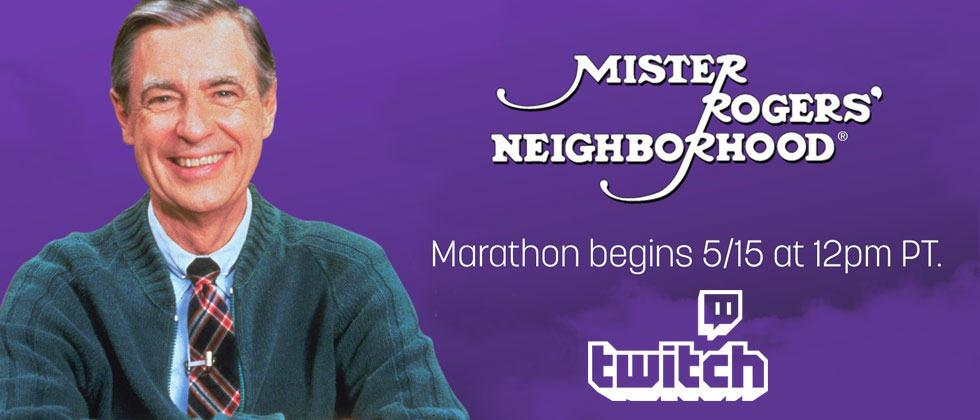 Watch Mister Rogers marathon streaming for 2.5-weeks, starting here!