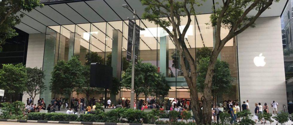 Apple opens flagship Singapore store, its first retail outlet in Southeast Asia