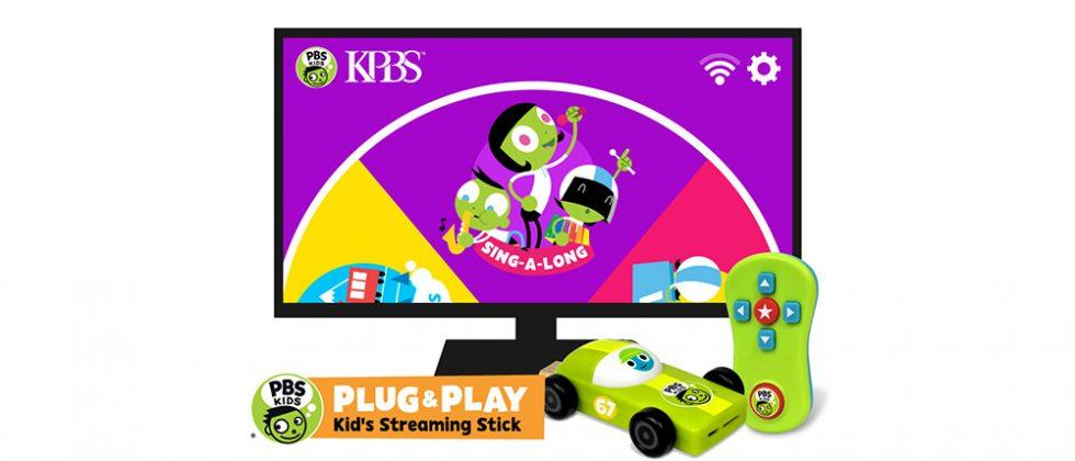 PBS Plug & Play is a toy-shaped HDMI dongle for kids
