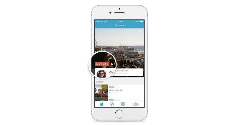 Periscope 360-degree live streaming now available on Android